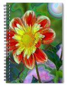 A Blooming Smile  Spiral Notebook