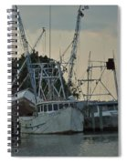 A Boat Named Cyclone Spiral Notebook