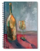 A Bottle Of White... Spiral Notebook