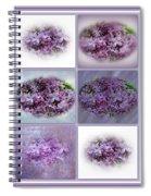 A Bouquet Of Lilacs Spiral Notebook