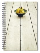 A Bowl Filled With Pears Spiral Notebook