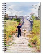 A Boy And His Dog Spiral Notebook