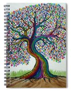 A Boy His Dog And Rainbow Tree Dreams Spiral Notebook