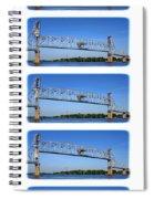 A Bridge Opening Spiral Notebook