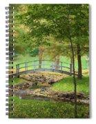 A Bridge To Peacefulness Spiral Notebook