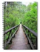 A Bridge To Somewhere Spiral Notebook