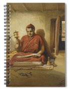 A Buddhist Monk, From India Ancient Spiral Notebook