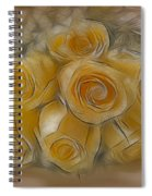 A Bunch Of Yellow Roses Spiral Notebook