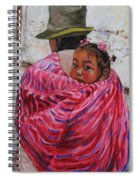 A Bundle Buggy Swaddle - Peru Impression IIi Spiral Notebook