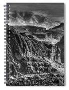 A Canyon Storm Spiral Notebook