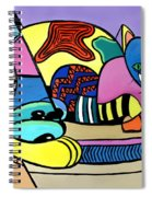 A Cat Named Picasso Spiral Notebook
