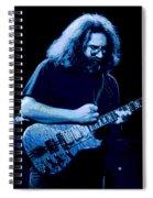 A Cat Under The Blue Stars Spiral Notebook