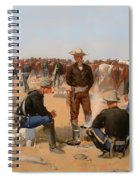 A Cavalryman's Breakfast Spiral Notebook