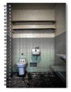 A Cell In Alcatraz Prison Spiral Notebook
