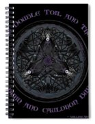 A Celtic Witches' Brew Spiral Notebook