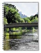 A Central Park Day Spiral Notebook
