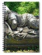 A Child Sleeps Spiral Notebook