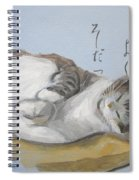 A Child Who Sleeps Well Grows Well Spiral Notebook