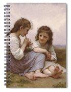 A Childhood Idyll Spiral Notebook
