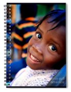 A Child's Smile Is One Of Life's Greatest Blessings Spiral Notebook