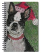 A Christmas Terrier Spiral Notebook