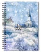 A Christmas To Remember Spiral Notebook