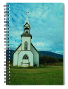 A Church In British Columbia   Spiral Notebook
