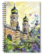 A Church In Budapest 01 Spiral Notebook