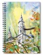 A Church In Budapest 02 Spiral Notebook