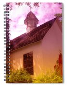 A Church In Prosser Wa Spiral Notebook