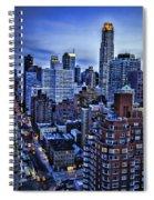 A City That Never Sleeps Spiral Notebook