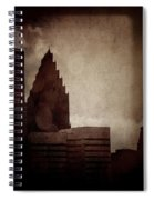 A City With No Name Spiral Notebook