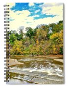 A Cleveland Autumn Spiral Notebook