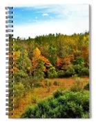 A Cleveland Landscape Spiral Notebook