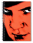 A Clockwork Orange Malcolm Mcdowell Spiral Notebook