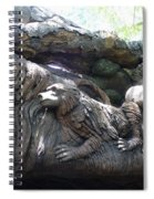 A Closer Look At Tree Of Life Spiral Notebook