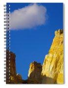 A Cloud Over Orange Rock Spiral Notebook