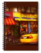 A Coffee On The Way Home Spiral Notebook