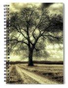 A Cold Wind Blows  Spiral Notebook