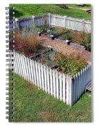 A Colonial Garden Spiral Notebook
