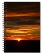 A Colorado Sunrise Spiral Notebook