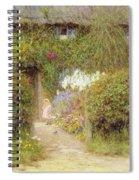 A Cottage At Redlynch Spiral Notebook