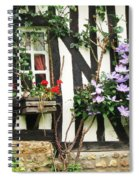 A Cottage In Normandy Spiral Notebook