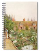 A Country Garden At Bray, Berkshire Spiral Notebook