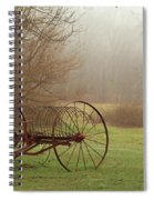 A Country Scene Spiral Notebook