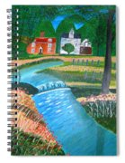 A Country Stream Spiral Notebook