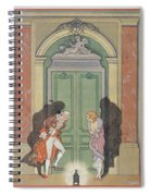 A Couple In Candlelight Spiral Notebook