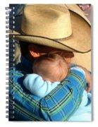 A Cowboy's Love Spiral Notebook