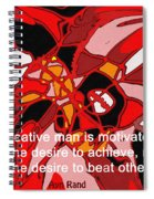 A Creative Man Spiral Notebook