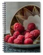 A Cupfull Of Raspberries Spiral Notebook